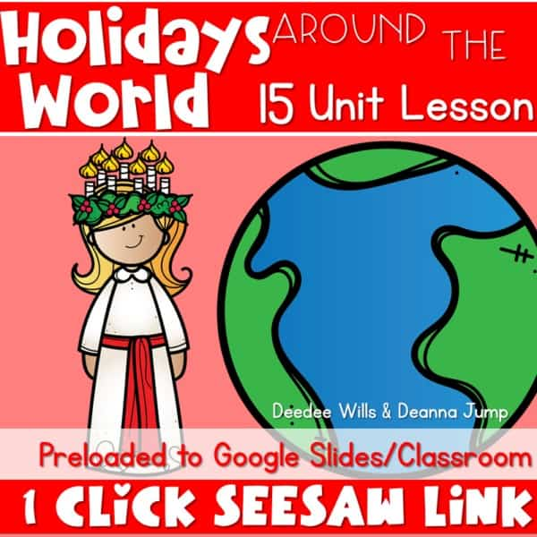 SEESAW Preloaded Digital Holidays Around the World 1