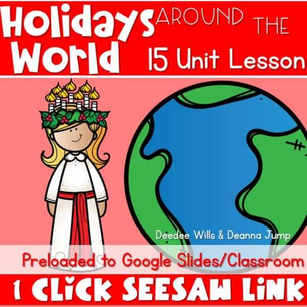 SEESAW Preloaded Digital Holidays Around the World 1