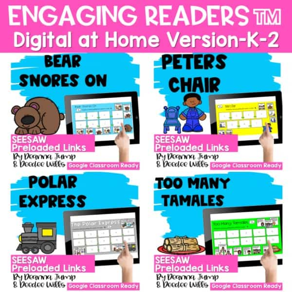 Seesaw Engaging Readers December Books 1