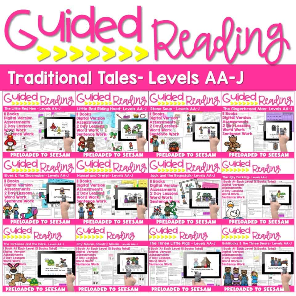 SEESAW Preloaded Traditional Tales and NonFiction Bundle 2