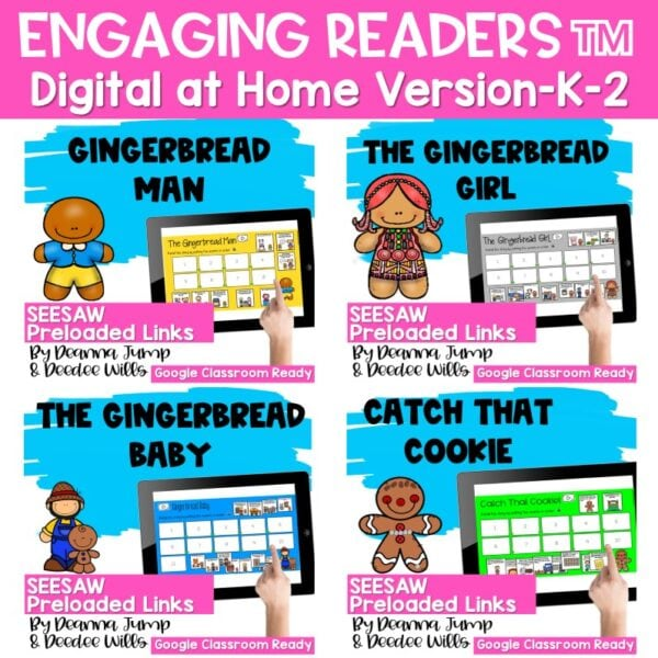 Seesaw Engaging Readers Gingerbread Books 1