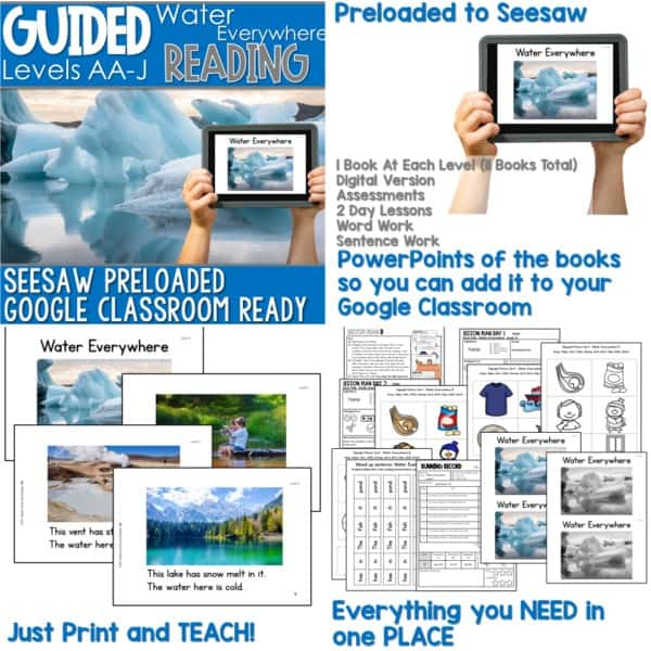 SEESAW Preloaded Guided Reading Nonfiction Bundle 14