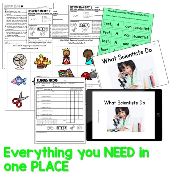 SEESAW Preloaded Guided Reading Nonfiction | Growing Bundle 12
