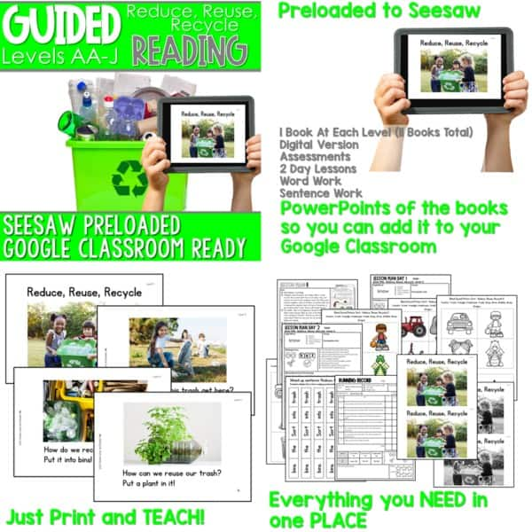 SEESAW Preloaded Guided Reading Nonfiction Bundle 16