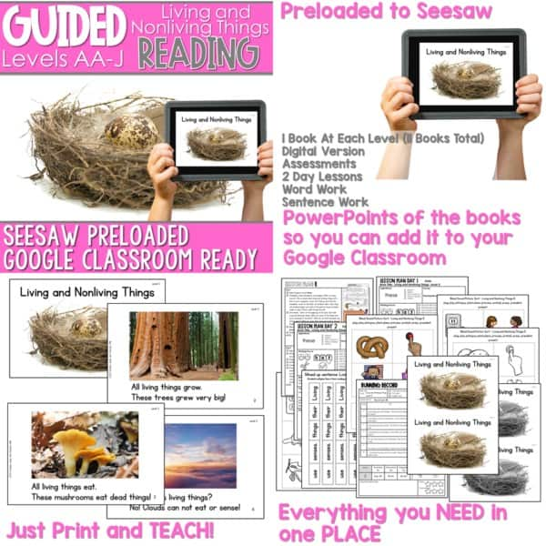 SEESAW Preloaded Guided Reading Nonfiction Bundle 9