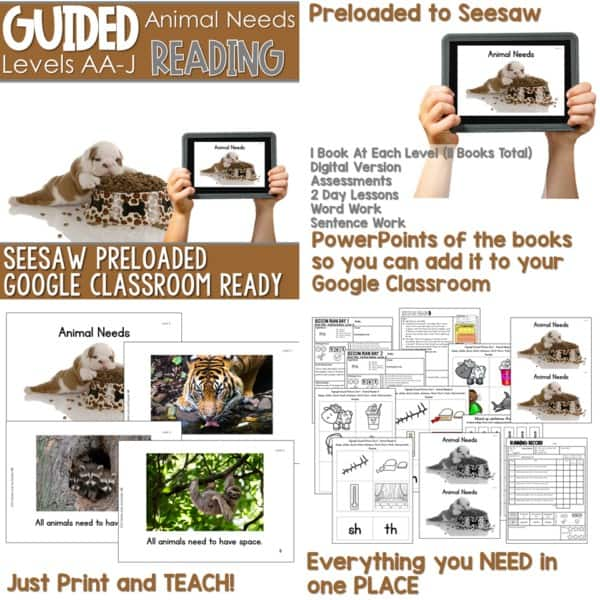 SEESAW Preloaded Guided Reading Nonfiction Bundle 17