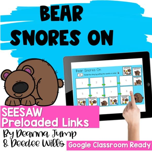 SEESAW Engaging Readers December and Gingerbread BUNDLE 2