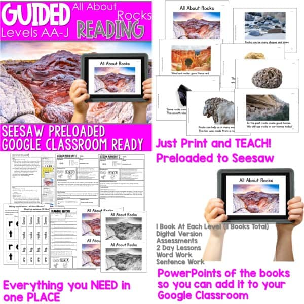SEESAW Preloaded Guided Reading Nonfiction Bundle 15