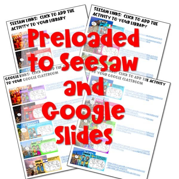 SEESAW Preloaded Digital Holidays Around the World 2
