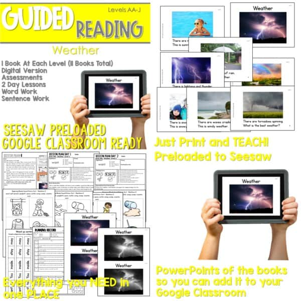 SEESAW Preloaded Guided Reading Nonfiction Bundle 11