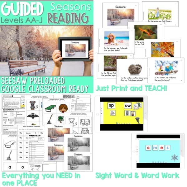 SEESAW Preloaded Guided Reading Nonfiction Bundle 12
