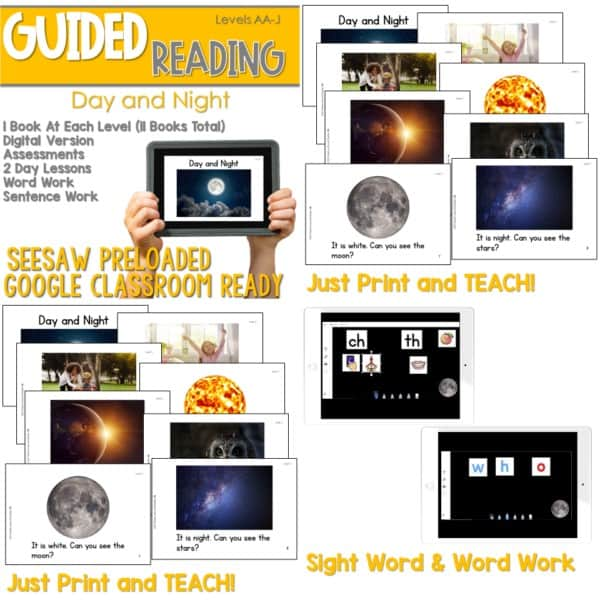 SEESAW Preloaded Guided Reading Nonfiction | Growing Bundle 9