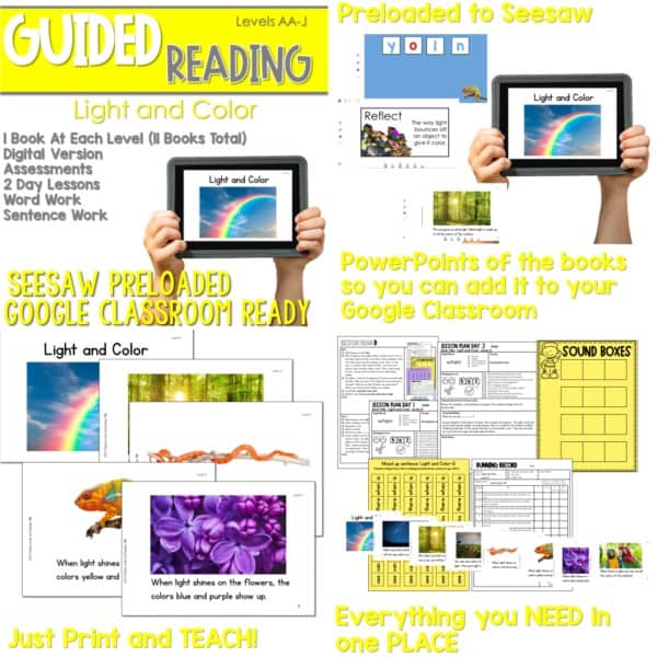 SEESAW Preloaded Guided Reading Nonfiction Bundle 8