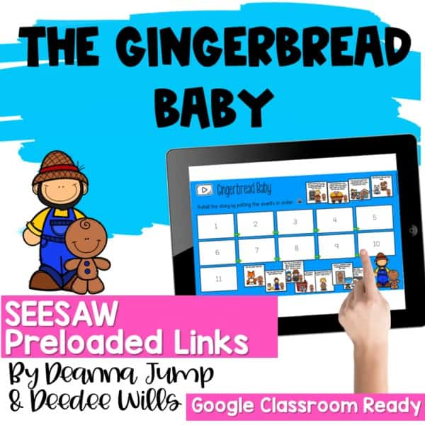 SEESAW Engaging Readers December and Gingerbread BUNDLE 11