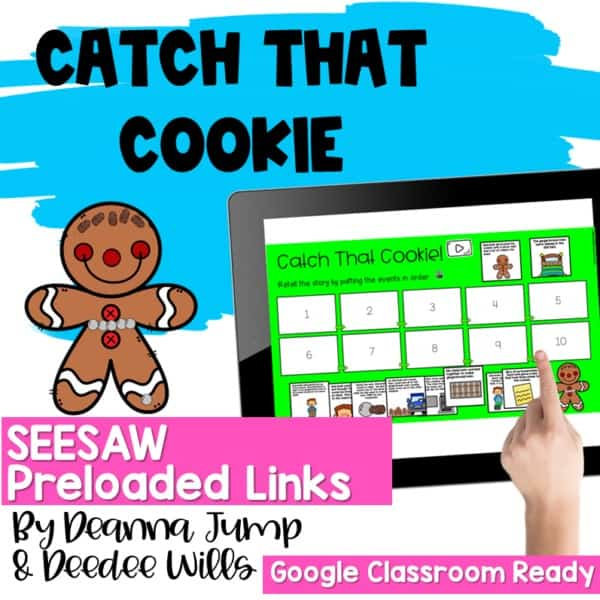 SEESAW Engaging Readers December and Gingerbread BUNDLE 10