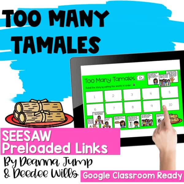 SEESAW Engaging Readers December and Gingerbread BUNDLE 5