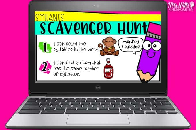Your students will love these academic scavenger hunt activities! Practice math and literacy skills with these digital activities that are great for classroom use and distance learning.