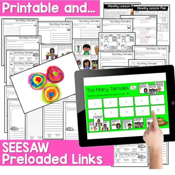 SEESAW Engaging Readers December and Gingerbread BUNDLE 6