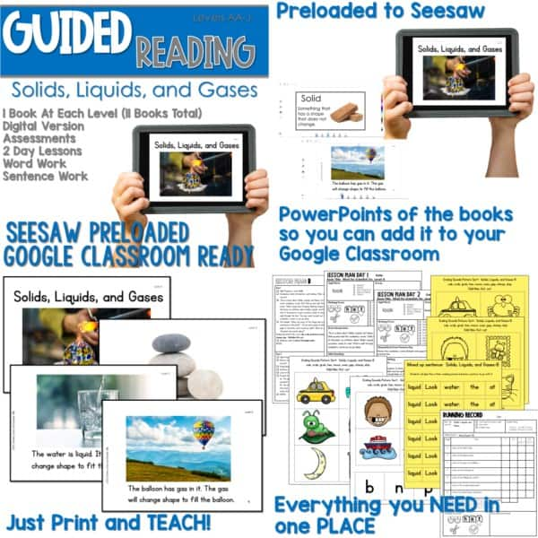SEESAW Preloaded Guided Reading Nonfiction | Growing Bundle 6