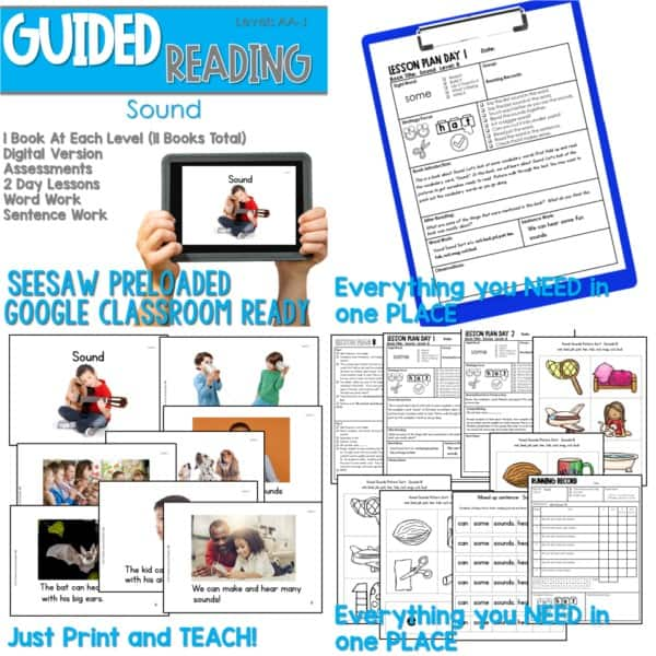 SEESAW Preloaded Guided Reading Nonfiction | Growing Bundle 5