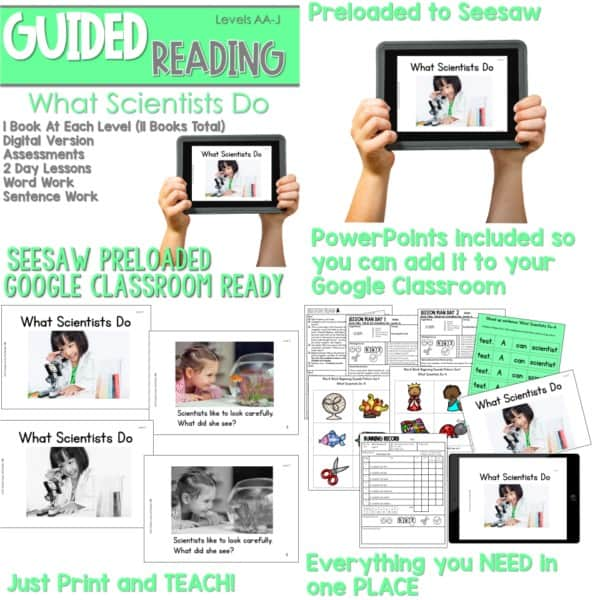 SEESAW Preloaded Guided Reading Nonfiction | Growing Bundle 4