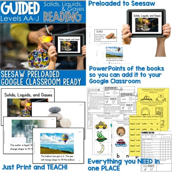 SEESAW Preloaded Guided Reading Nonfiction Bundle 13