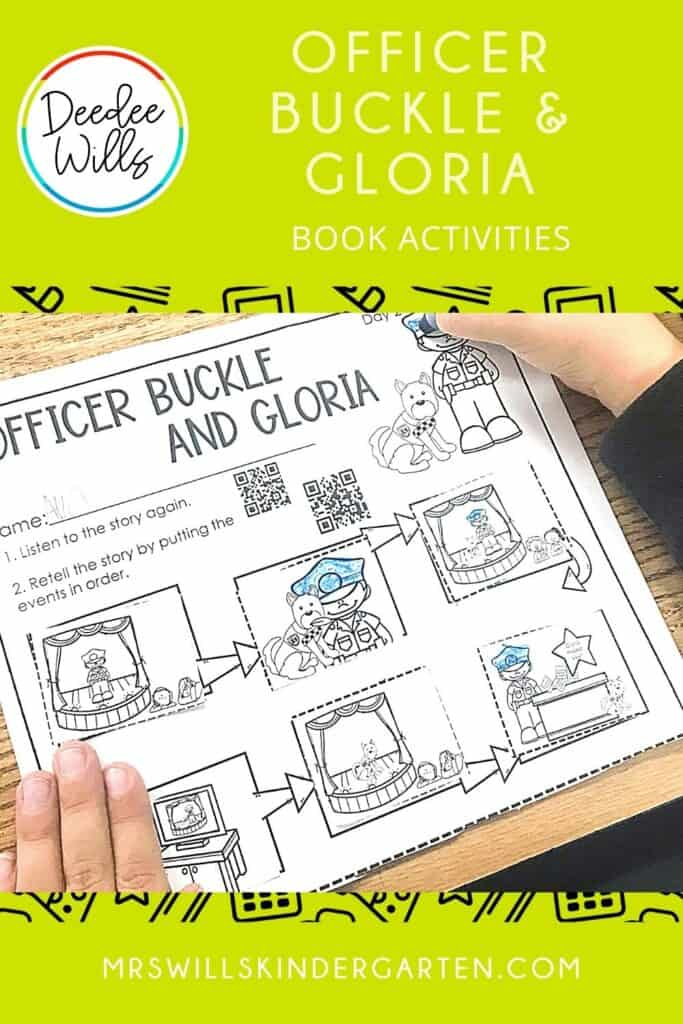 Officer Buckle and Gloria Activities for K-1 3