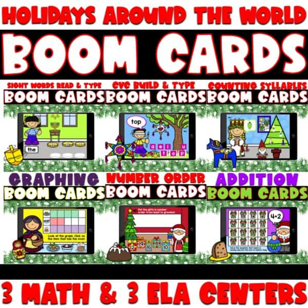 BOOM Holidays Around The World Centers 1