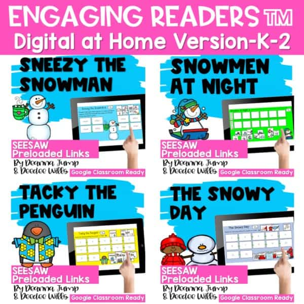 Seesaw Engaging Readers January Books 1