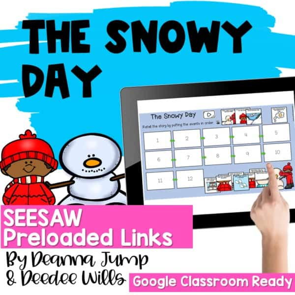 Seesaw Engaging Readers January Books 5