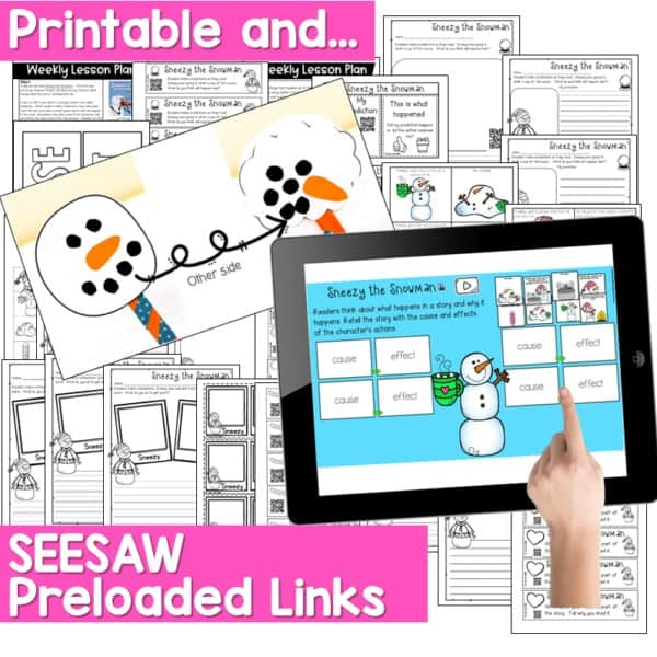 Seesaw Engaging Readers January Books 6