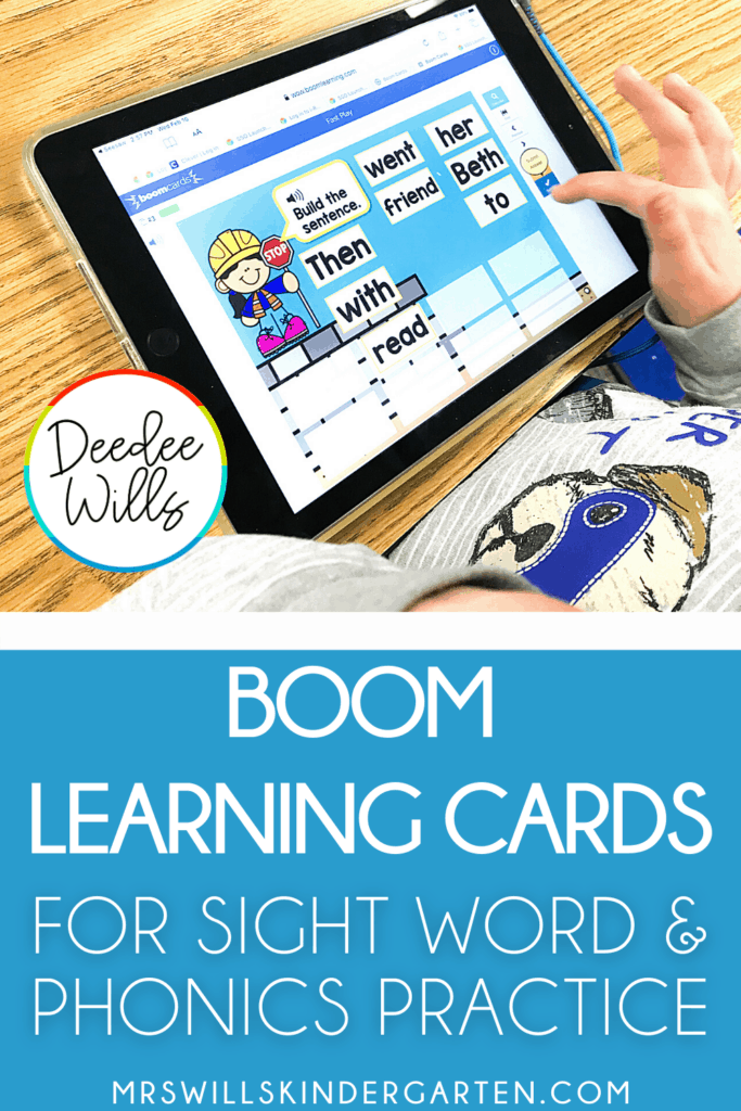 Students will love practicing sight words and phonics with these fun Boom learning card decks! Support your daily instruction with these interactive and self-correcting activities.