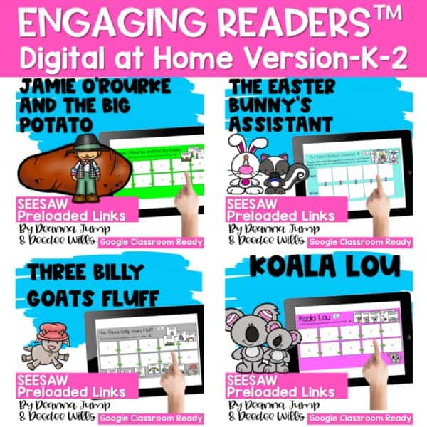 Seesaw Engaging Readers March Books 1