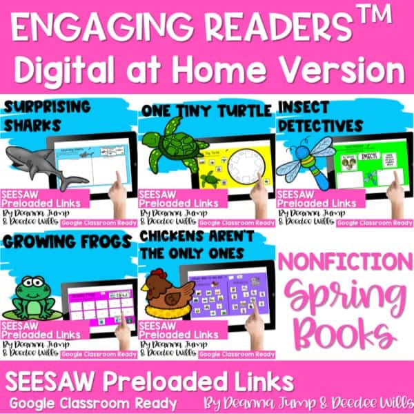 Seesaw Engaging Readers NonFiction Spring 1