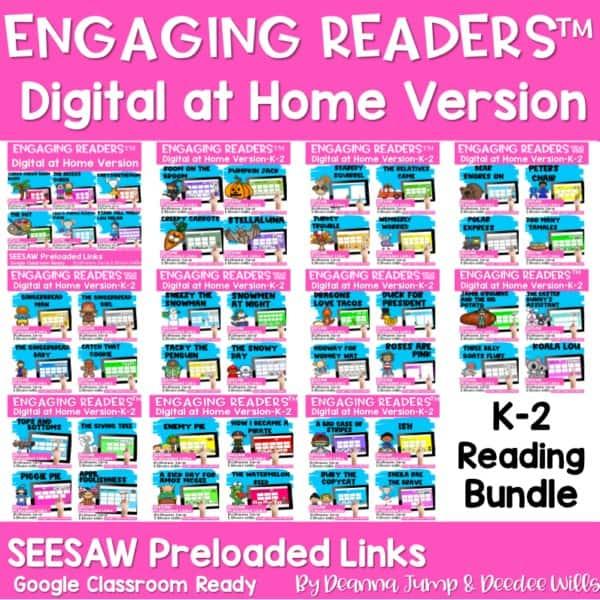 Seesaw Engaging Readers Year Long Bundle 1