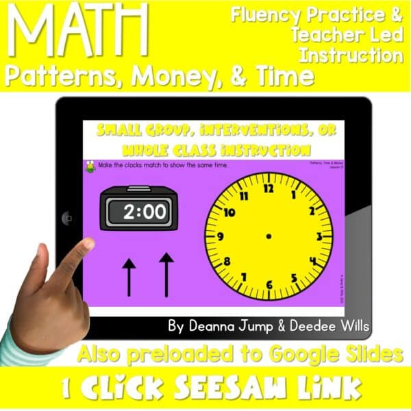 Digital Math Activities Bundle 15