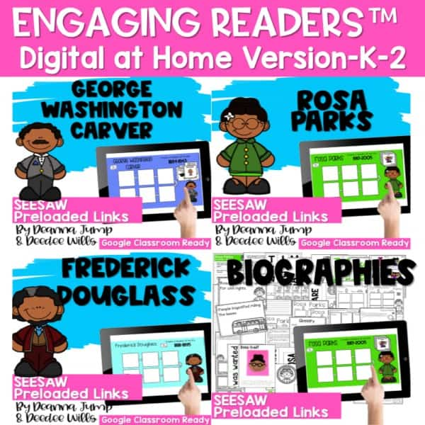SEESAW Engaging Readers | Black History 1