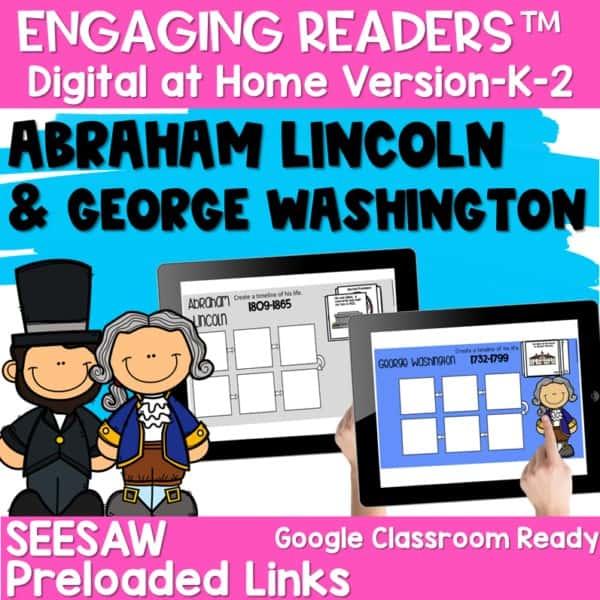 SEESAW Engaging Readers | Presidents 1