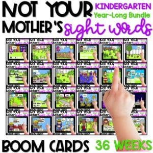 Boom Sight Words