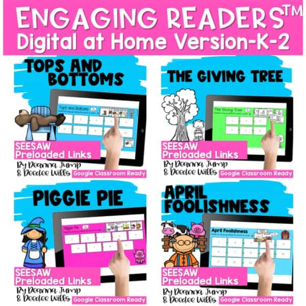 Seesaw Engaging Readers April Books 1