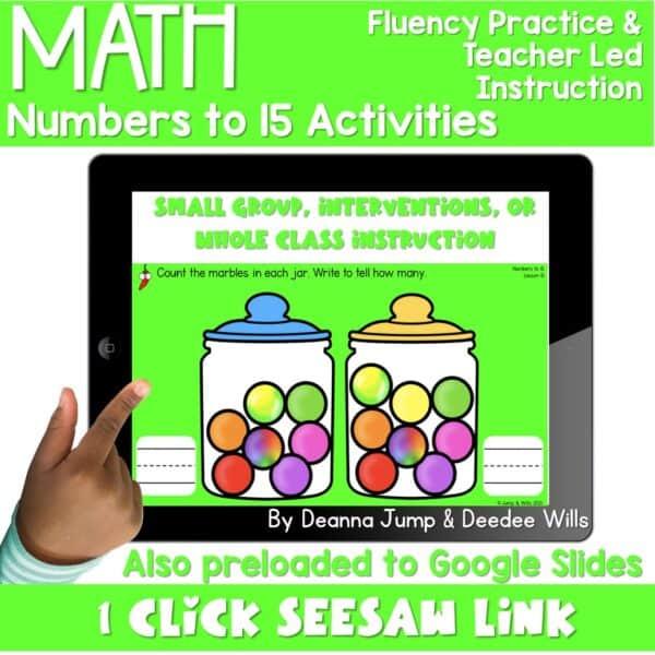 Digital Math Activities Bundle 13