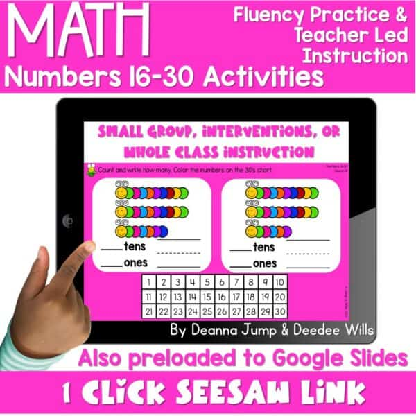 Digital Math Activities Bundle 14