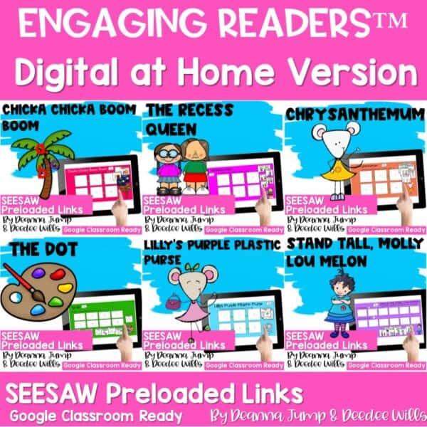 Seesaw Engaging Readers Year Long Bundle 2
