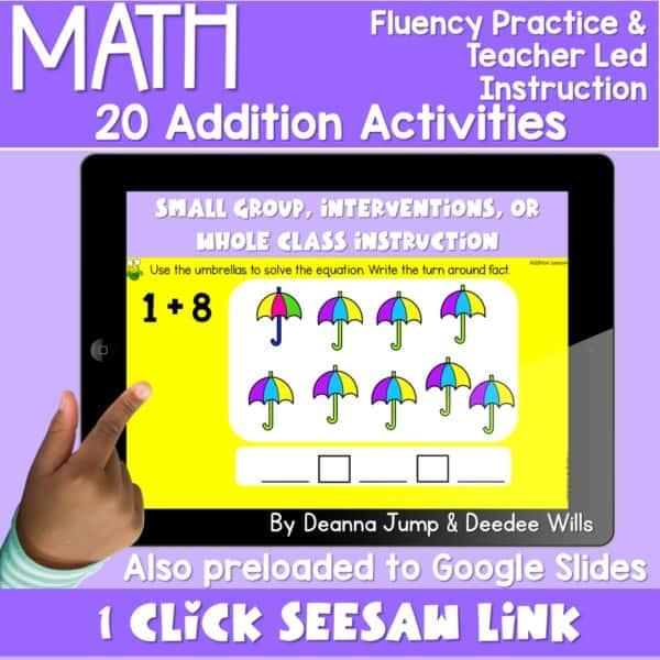 Digital Math Activities Bundle 3