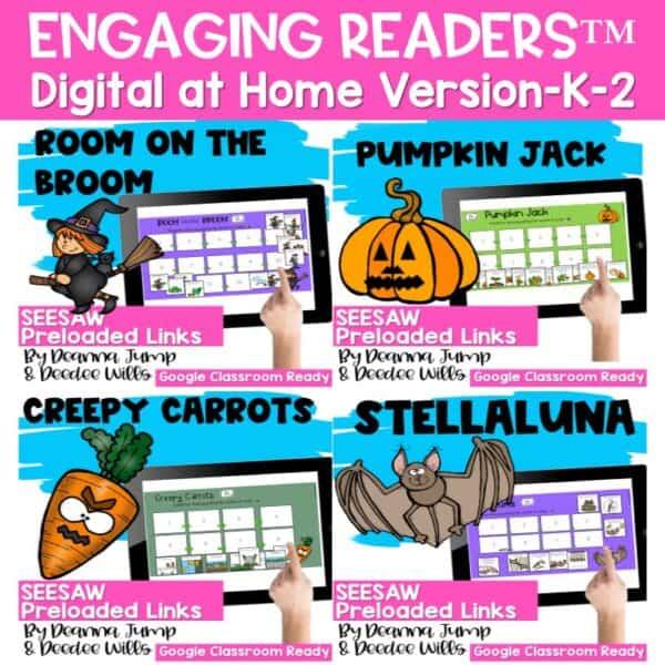 Seesaw Engaging Readers Year Long Bundle 3