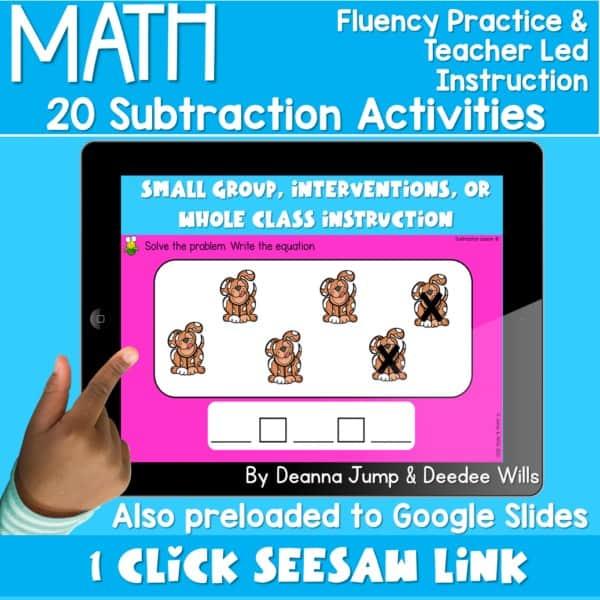 Digital Math Activities Bundle 2