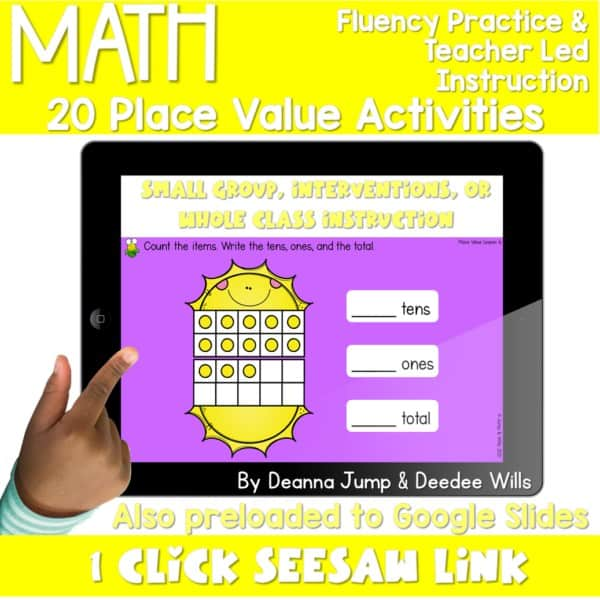 Digital Math Activities Bundle 6