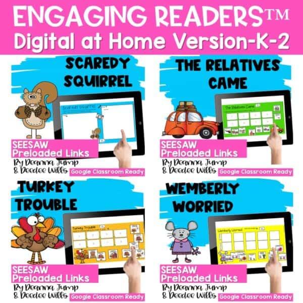Seesaw Engaging Readers Year Long Bundle 4
