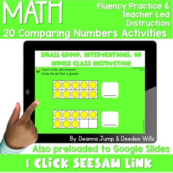 Digital Math Activities Bundle 7