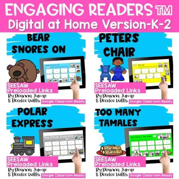 Seesaw Engaging Readers Year Long Bundle 5